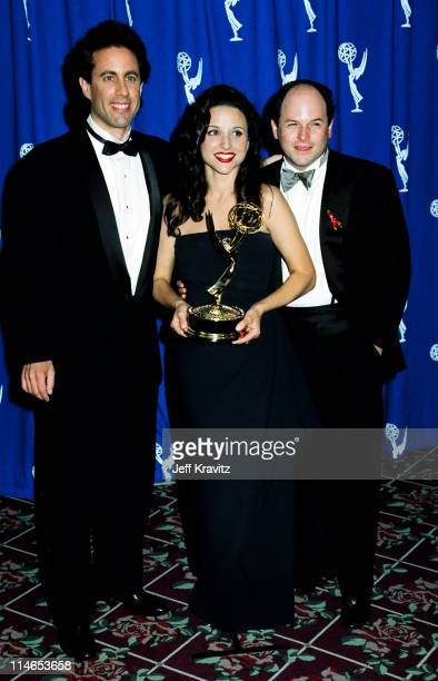 Jerry Seinfeld Julia LouisDreyfus and Jason Alexander