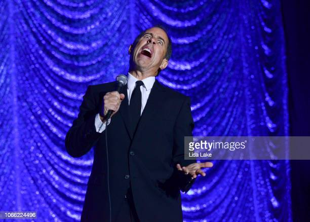 Jerry Seinfeld performs during Philly Fights Cancer: Round 4 at The Philadelphia Navy Yard on November 10, 2018 in Philadelphia, Pennsylvania.