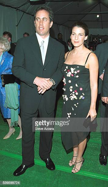 Jerry Seinfeld with wife Jessica