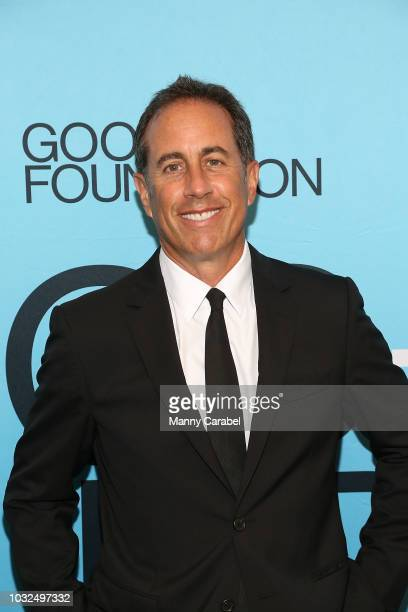 """Jerry Seinfield attends the GOOD + Foundation """"An Evening of Comedy + Music"""" Benefit at Carnegie Hall on September 12, 2018 in New York City."""
