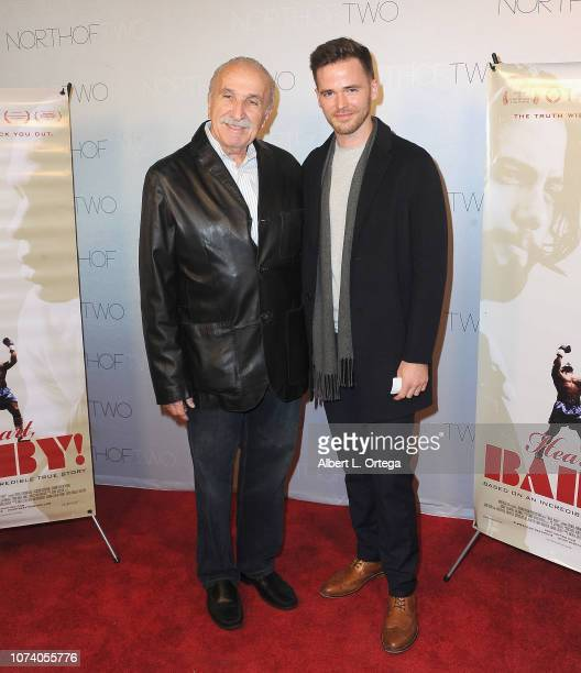 Jerry Silverhardt and Mason O'Sullivan arrive for the premiere of 'Heart Baby' held at The Ahrya Fine Arts Laemmle Theater on November 23 2018 in...
