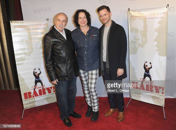 Jerry Silverhardt Angela Shelton and Mason O'Sullivan arrive for the premiere of 'Heart Baby' held at The Ahrya Fine Arts Laemmle Theater on November...