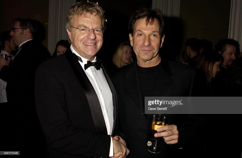 Jerry Springer And Michael Brandon, Jerry Springer Opera In The West End Opens At The Cambridge Theatre In Covent Garden, Then Party At The Whitehall Banquetting Rooms