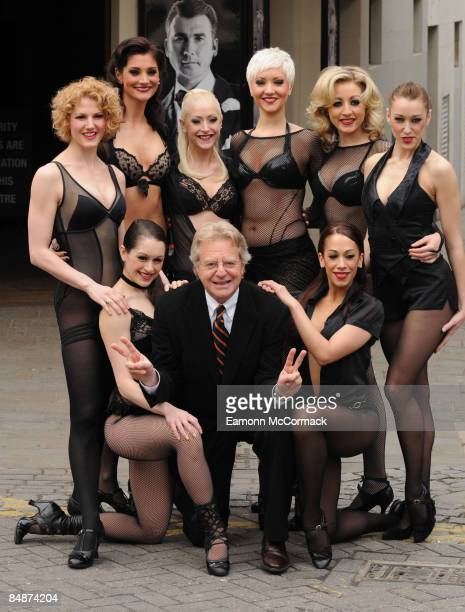 Jerry Springer announces his Stage debut starring as 'Billy Flynn' in West End Musical 'Chicago' at Cambridge Theatre on February 17 2009 in London...