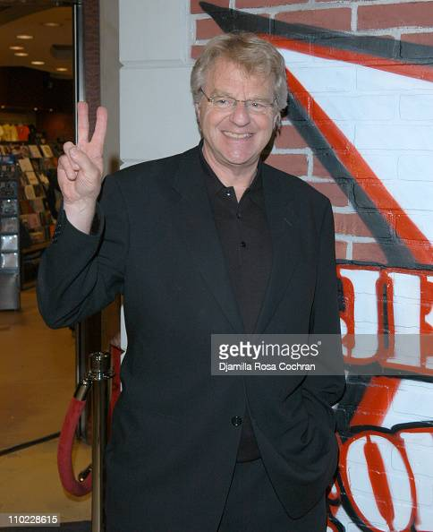 Jerry springer dating history