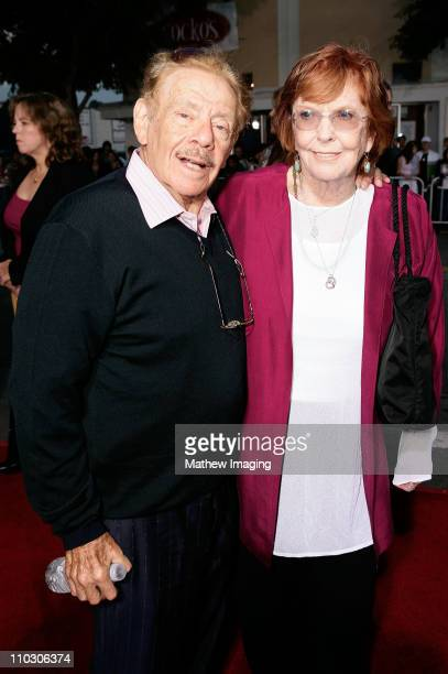 """Jerry Stiller and Anne Meara at the premiere of """"The Heartbreak Kid"""" at Mann's Village Theater on September 27, 2007 in Westwood, California."""