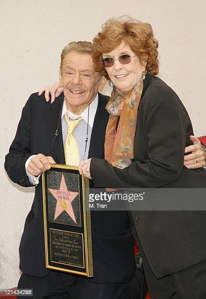 Jerry Stiller and Anne Meara during Jerry Stiller and Anne Meara Honored with a Star on the Hollywood Walk of Fame at 7018 Hollywood Blvd. In...