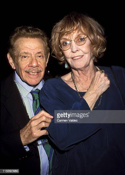 Jerry Stiller and Anne Meara during Toyota Comedy Festival Presents Friars Club Roast To Richard Belzer at Town Hall in New York City, New York,...