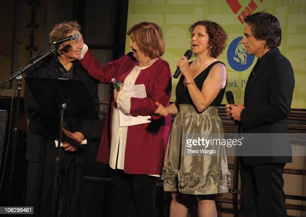 Jerry Stiller Anne Meara Amy Stiller and Ben Stiller attend the George Carlin Tribute hosted by Whoopi Goldberg at the New York Public Library...