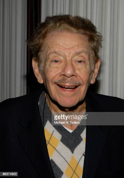 Jerry Stiller attends the 25th Anniversary of Creative Alternatives of New York at the Loeb Central Park Boathouse on May 4, 2009 in New York City.