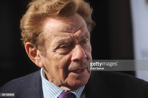 "Jerry Stiller attends the Project A.L.S. Benefit gala ""Tomorrow is Tonight"" at the Waldorf Astoria on October 7, 2008 in New York City."
