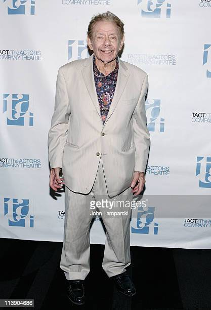 Jerry Stiller attends the TACT/The Actors Company Theatre Spring Gala at The Edison Ballroom on May 9 2011 in New York United States