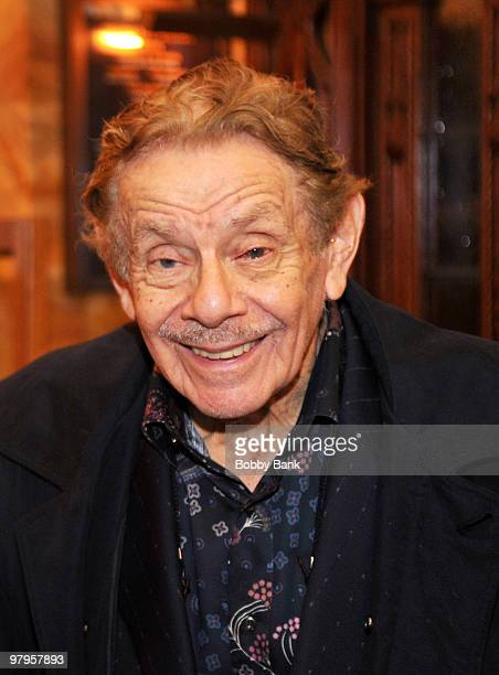 Jerry Stiller attends the Tribute to Mickey Freeman at the New York Friars Club on March 22, 2010 in New York City.