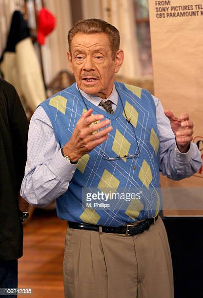 "Jerry Stiller during ""King of Queens"" Celebrates Their 200th Episode at Sony Studios in Culver City, California, United States."