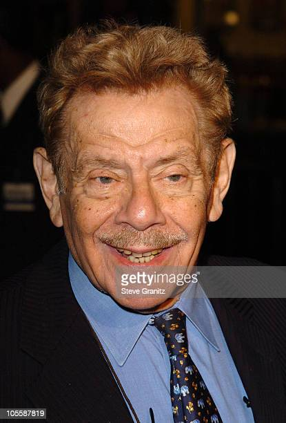 "Jerry Stiller during ""Meet The Fockers"" Los Angeles Premiere - Arrivals at Universal Amphitheatre in Universal City, California, United States."