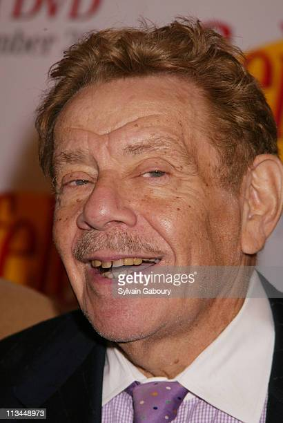 Jerry Stiller during The Seinfeld Cast Reunites to Celebrate the Release of Seinfeld on DVD at The Rainbow Room in New York New York United States
