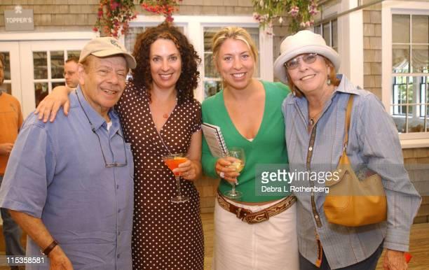 Jerry Stiller, Jill Burkhart, Executive Director, Mystelle Brabbee, Artistic Director and Anne Meara