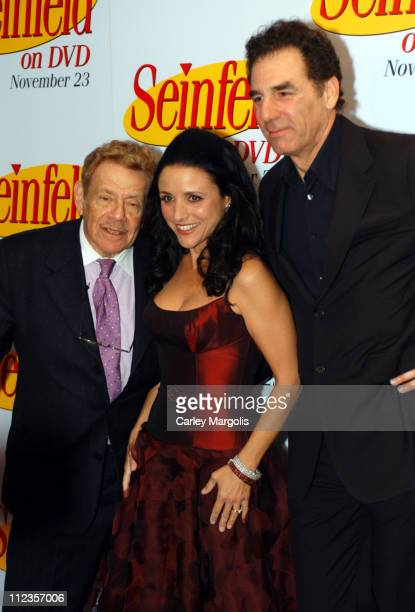 Jerry Stiller Julia LouisDreyfus and Michael Richards