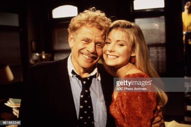 Jerry Stiller Kelly Ripa appearing on Walt Disney Television via Getty Images's 'All My Children'