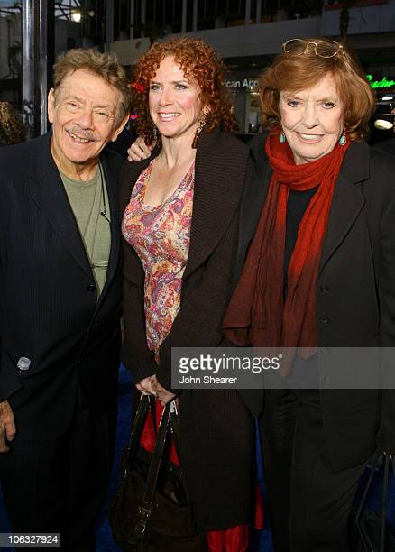 Jerry Stiller Nancy Stiller and Anne Meara during Blades of Glory Los Angeles Premiere Red Carpet at Mann's Chinese Theater in Hollywood California...