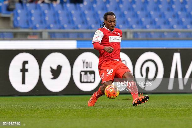 Jerry Uche Mbakogu during the Italian Serie A football match SS Lazio vs FC Carpi at the Olympic Stadium in Rome on January 06 2016