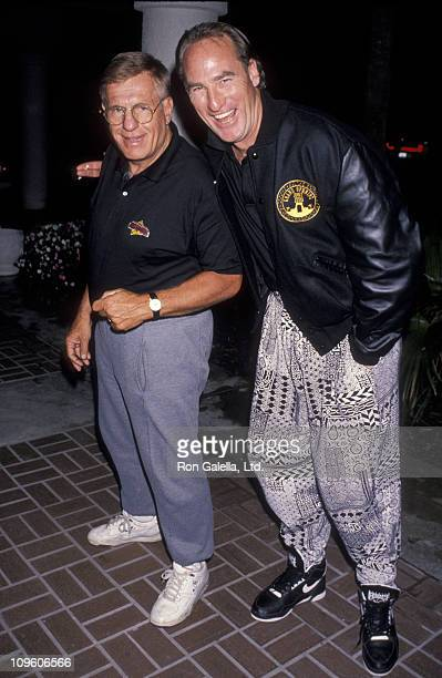 Jerry Van Dyke and Craig T. Nelson during Universal Studios Private Party at the Grand Cypress Resort - June 6, 1990 at Grand Cyprus Resort in...