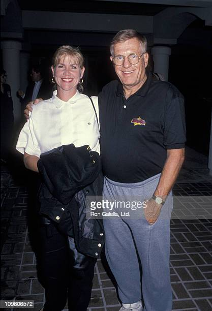 Jerry Van Dyke and guest during Universal Studios Private Party at the Grand Cypress Resort - June 6, 1990 at Grand Cyprus Resort in Orlando,...