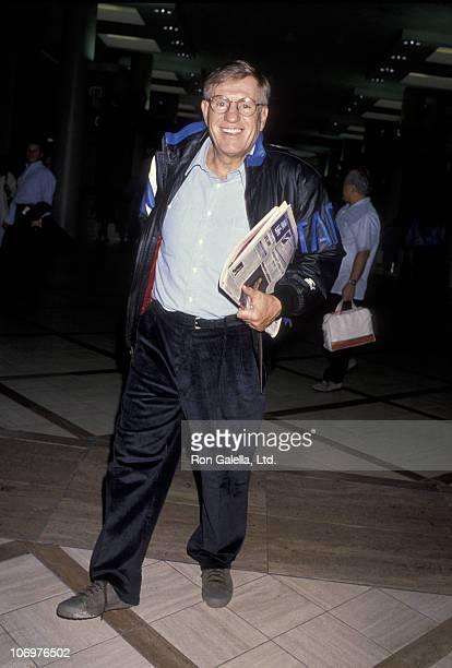 Jerry Van Dyke during Jerry Van Dyke at Los Angeles International Airport December 30 1992 at Los Angeles International Airport in Los Angeles...
