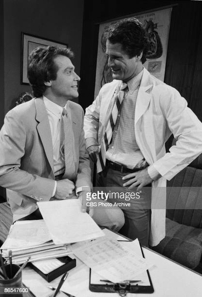LIGHT Jerry Ver Dorn as Ross Marler left and Ben Murphy as Richard Carrol medical examiner Image dated April 29 1983