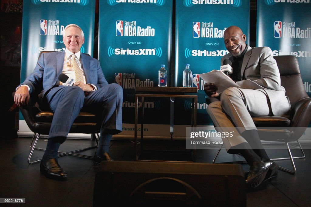 NBA Legend Jerry West Sits Down for SiriusXM Town Hall at the L.A. Forum, hosted by James Worthy