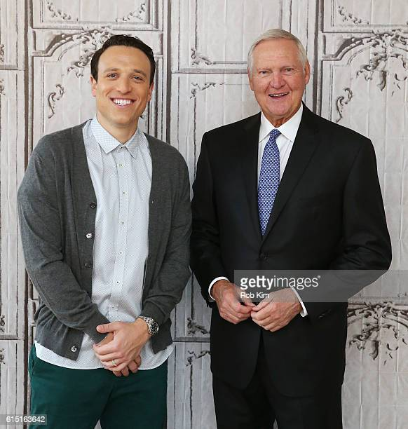 Jerry West and Jordan Schultz discusses the upcoming NBA Season and his personal battle with Atrial Fibrillation at the Build Series at AOL HQ on...