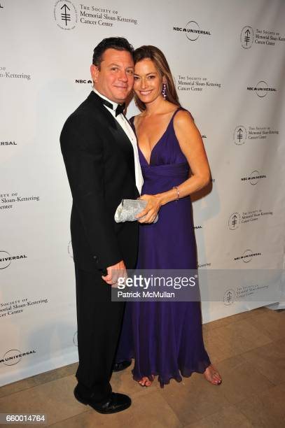 Jerry Wolf and Holly Hammond attend THE SOCIETY of MEMORIAL SLOANKETTERING CANCER CENTER 2nd Annual Spring Ball at The Plaza Hotel Ballroom on May 13...