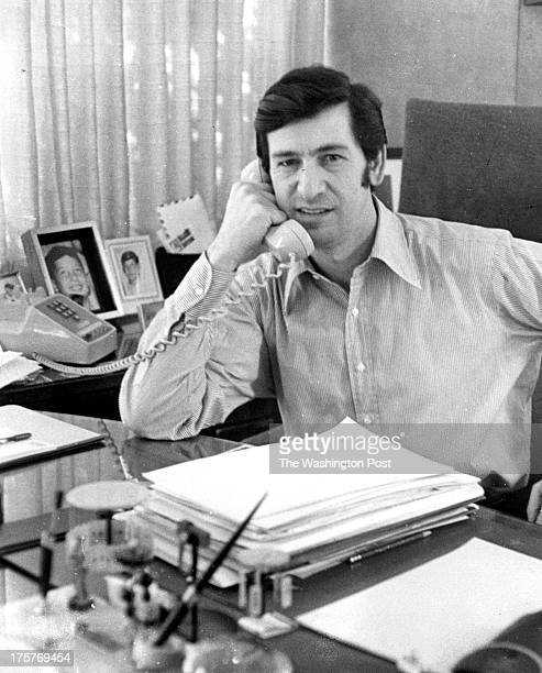 FILE Jerry Wolman in his office in Silver Spring Maryland on December 28 1970 Wolman a construction baron who built and quickly lost one of the...