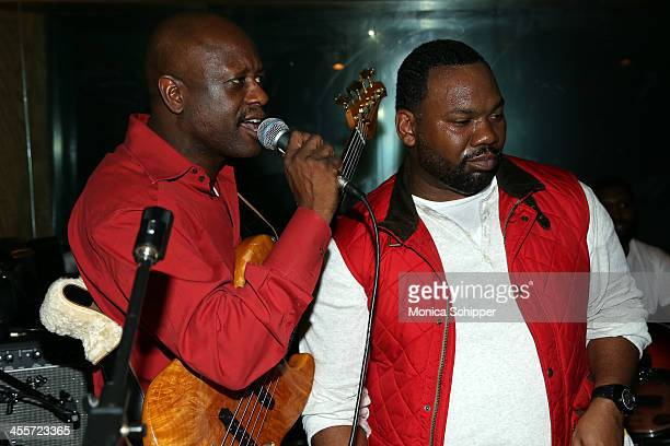 Jerry Wonda and Raekwon perform at PS Underground NYC with Grammy Artists Helping Hurricane Sandy Relief hosted by Jerry Wonda and Gina de Franco at...