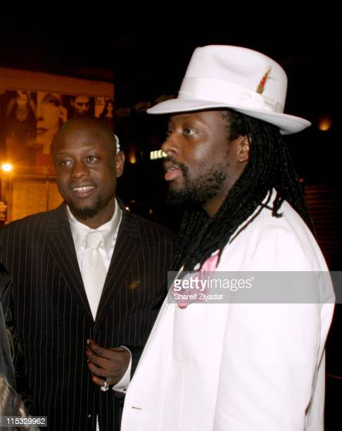 Jerry Wonder and Wyclef Jean during VP Records 25th Anniversary - Arrivals and Concert at Radio City Music Hall in New York City, New York, United...