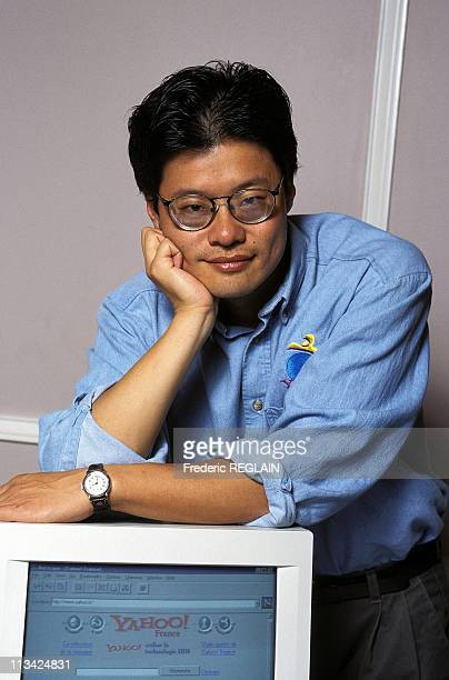 Jerry Yang, Creator Of 'Yahoo' On October 15th,1996 In Paris, France.