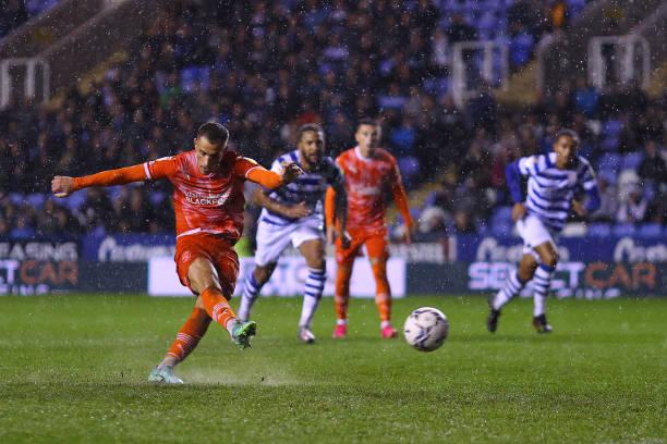 GBR: Reading v Blackpool - Sky Bet Championship