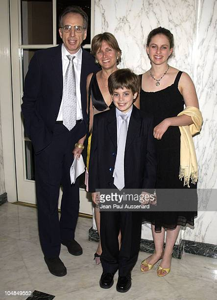 Jerry Zucker and family during American Diabetes Association Woman Of Valor Award at Regent Beverly Wilshire Hotel in Beverly Hills California United...