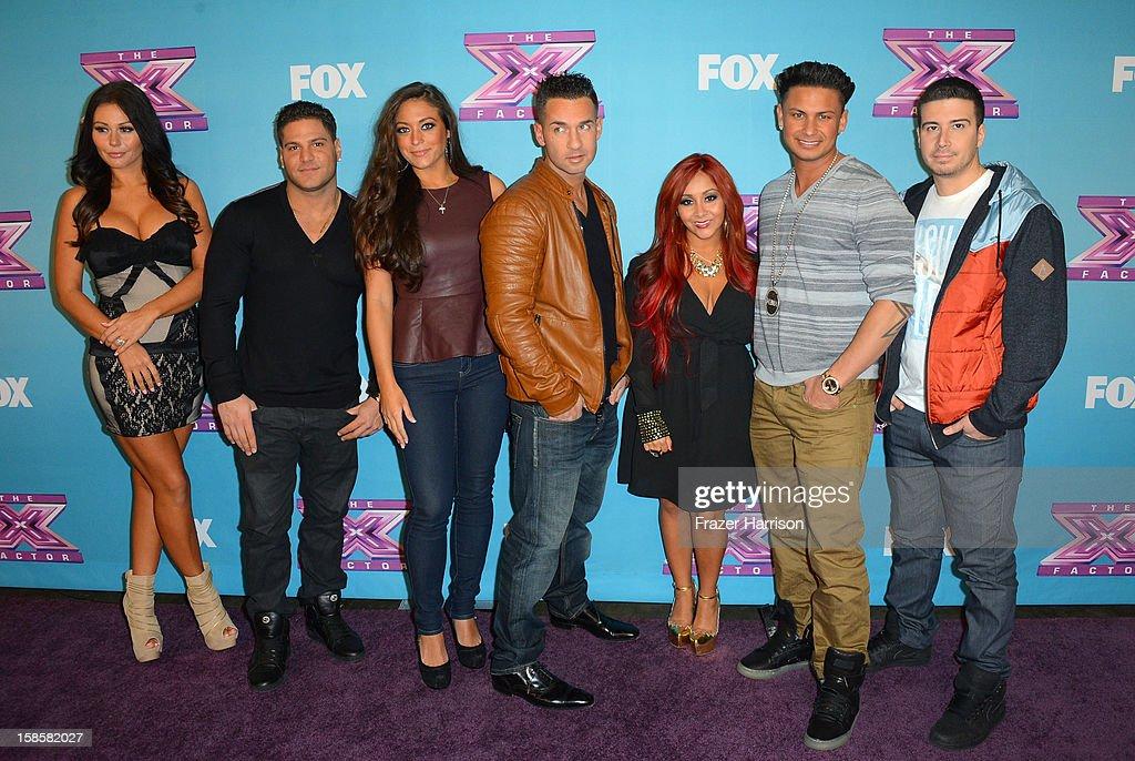 Fox's 'The X Factor' Season Finale - Night 1 : News Photo