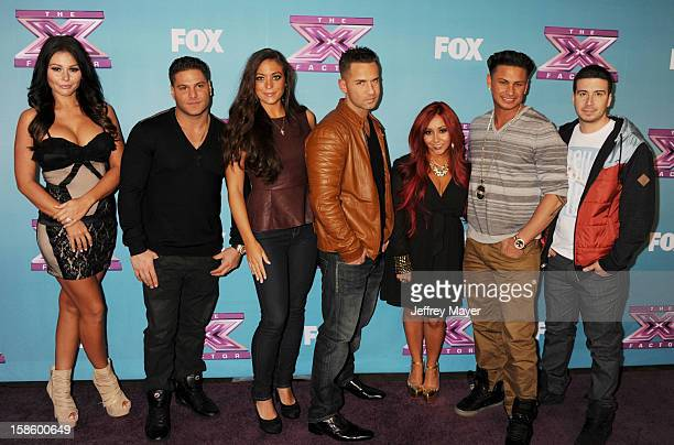 Jersey Shore cast Jenni 'Jwoww' Farley Ronnie OrtizMagro Sammi 'Sweetheart' Giancola Mike 'The Situation' Sorrentino Nicole 'Snooki' Polizzi Paul...