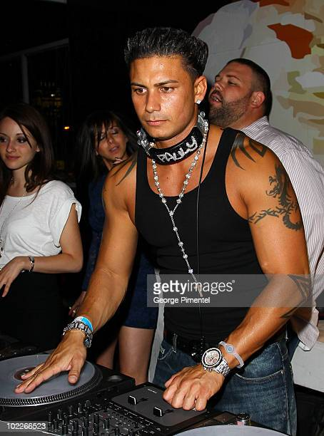 Jersey Shore DJ Pauly D attends the 21st Annual MuchMusic Video Awards official after party at the Skybar on June 20 2010 in Toronto Canada
