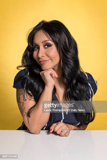Jersey Shore Family Vacation cast member Nicole Snooki Polizzi is photographed for NY Daily News on March 27 2018 in New York City CREDIT MUST READ...