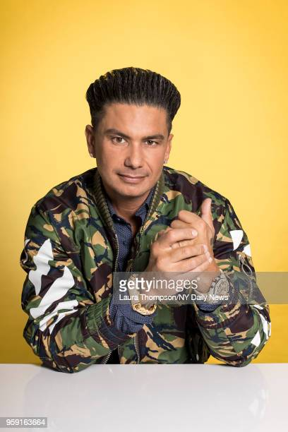 Jersey Shore Family Vacation cast member Paul 'DJ Pauly D' DelVecchio is photographed for NY Daily News on March 27 2018 in New York City CREDIT MUST...