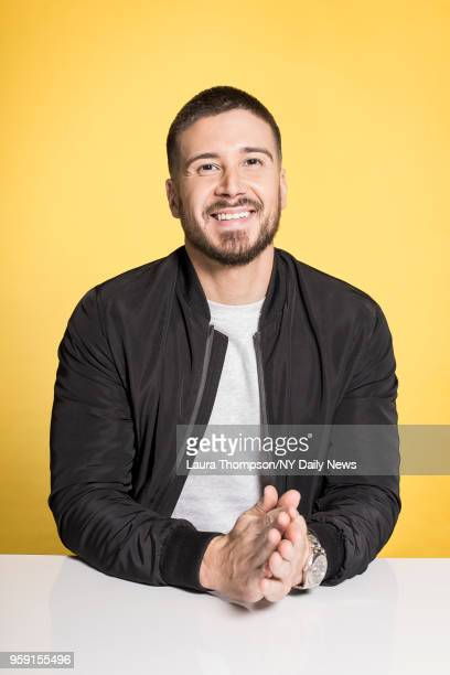 Jersey Shore Family Vacation cast member, Vinny Guadagnino is photographed for NY Daily News on March 27, 2018 in New York City. CREDIT MUST READ:...