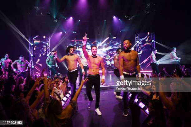 Jersey Shore star Vinny Guadagnino returns to Chippendales as celebrity guest host by popular demand at Rio AllSuite Hotel Casino on July 26 2019 in...