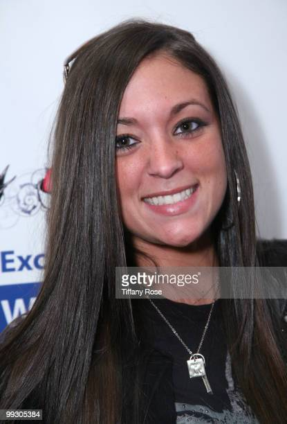 Jersey Shore's Sammi Giancola arrives at GBK's Gift Lounge for the 2010 Golden Globes Nominees and Presenters Day 2 on January 16 2010 in Los Angeles...
