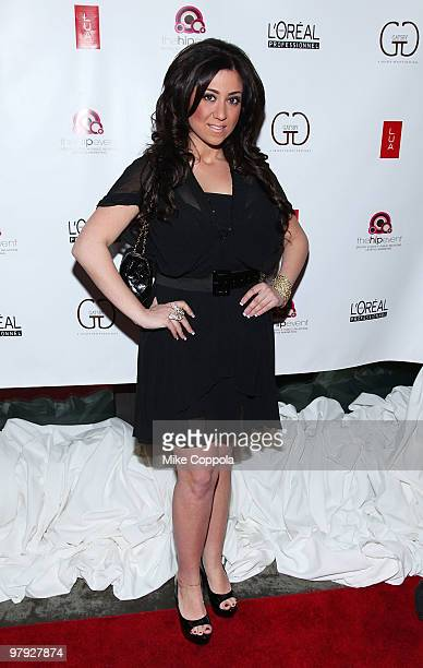 Jerseylicious cast member Gigi Liscio attends the Gatsby Salon's Premiere Party at LUA on March 21, 2010 in Hoboken, New Jersey.
