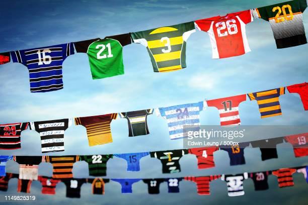 jerseys - championnat mondial de football photos et images de collection