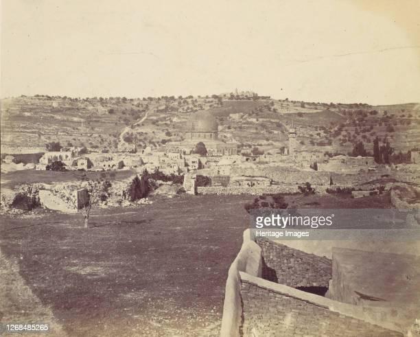 Jerusalem, 1857. Artist John Anthony.
