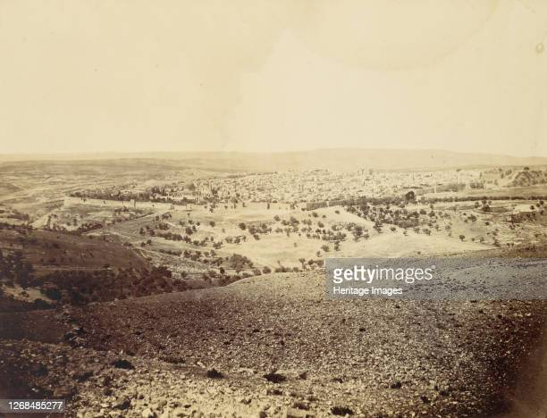 Jerusalem, 1860s. Artist John Anthony.